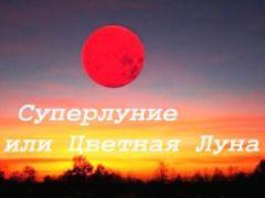 Суперлуние 26 мая 2021, Кровавая Луна и полное затмение