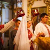 Осень — пора свадеб и венчания