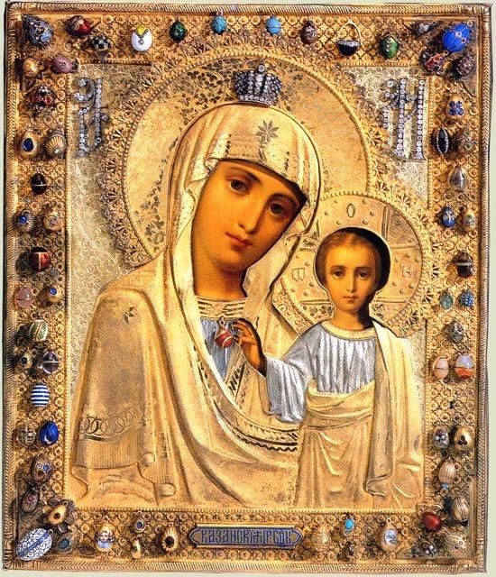 молитвы от глазных болезней Казанской иконе