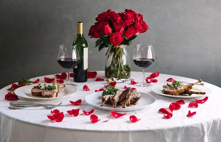 романтика Валентинова дня