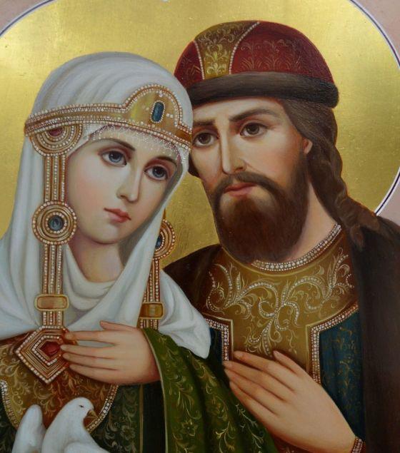 икона Петру и Февронии и Муромских